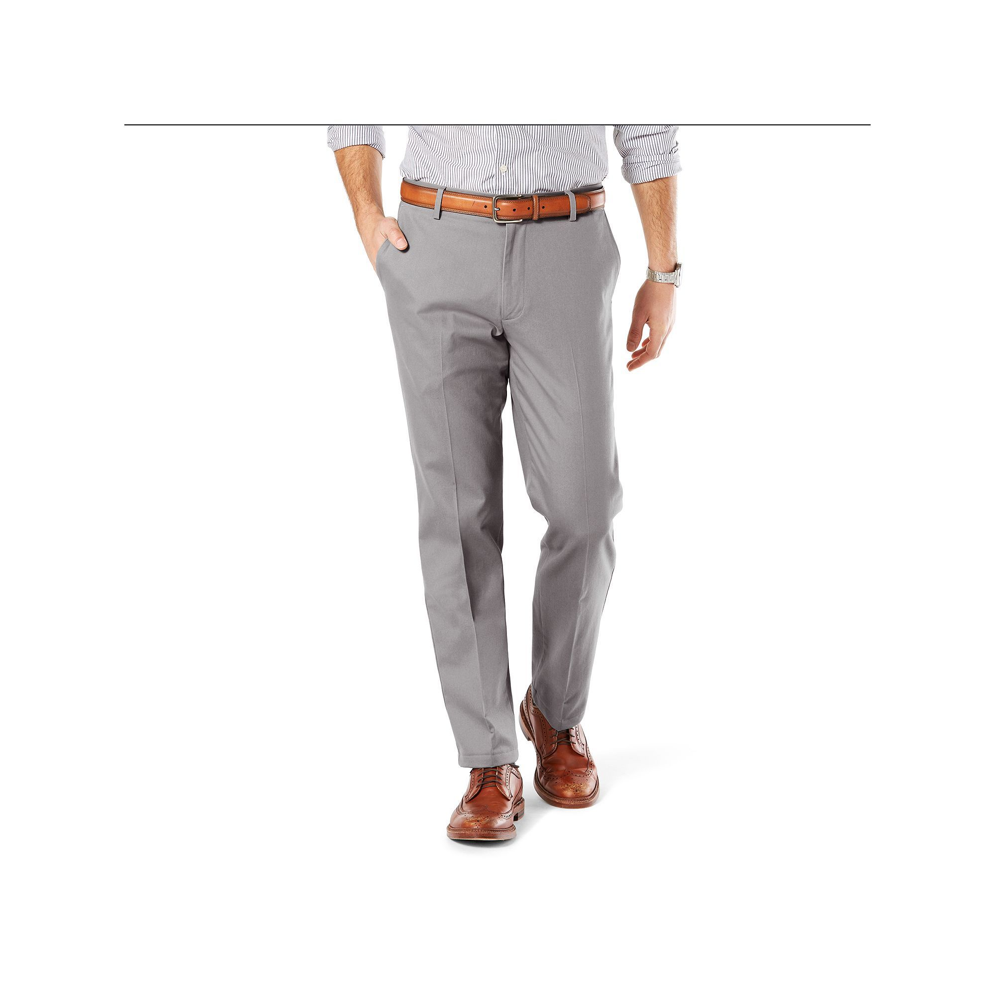Men S Dockers Straight Fit Stretch Signature Khaki Pants D2 Khaki Pants Straight Fit Pants Khaki