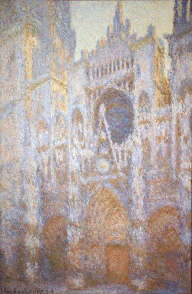 Claude-Monet | la Cathédrale de Rouen (façade)