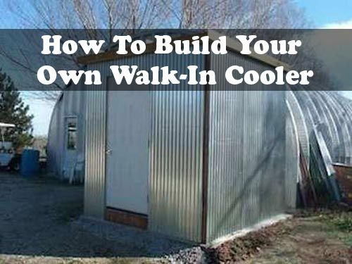 How To Build Your Own Walk In Cooler If You Are Interested
