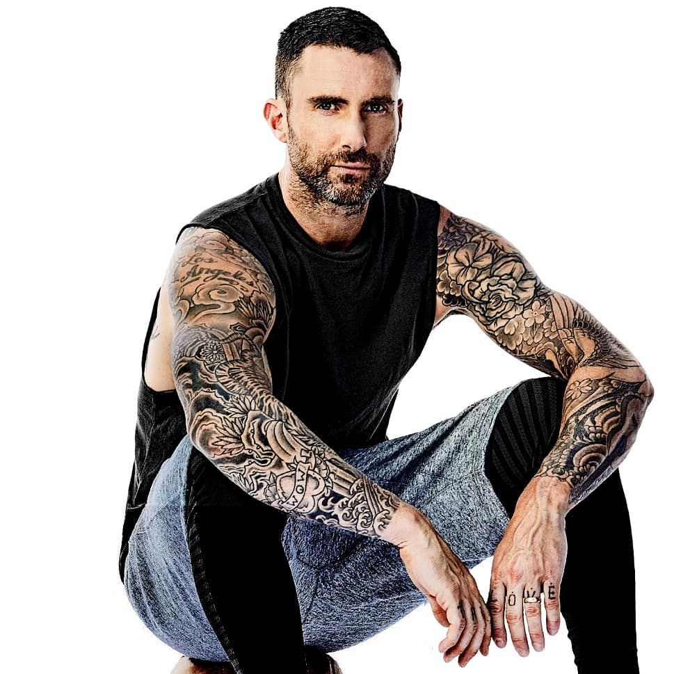 Adamlevine Maroon5 Adam Levine Men Sweater Maroon 5