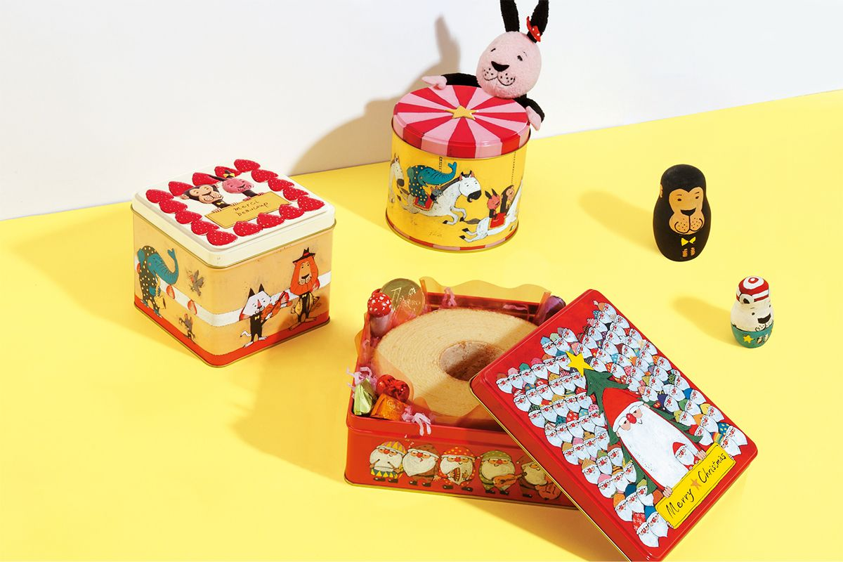 2935fe05f399 メーリーゴーランド缶 | お菓子のミカタ | package | お菓子、菓子、缶