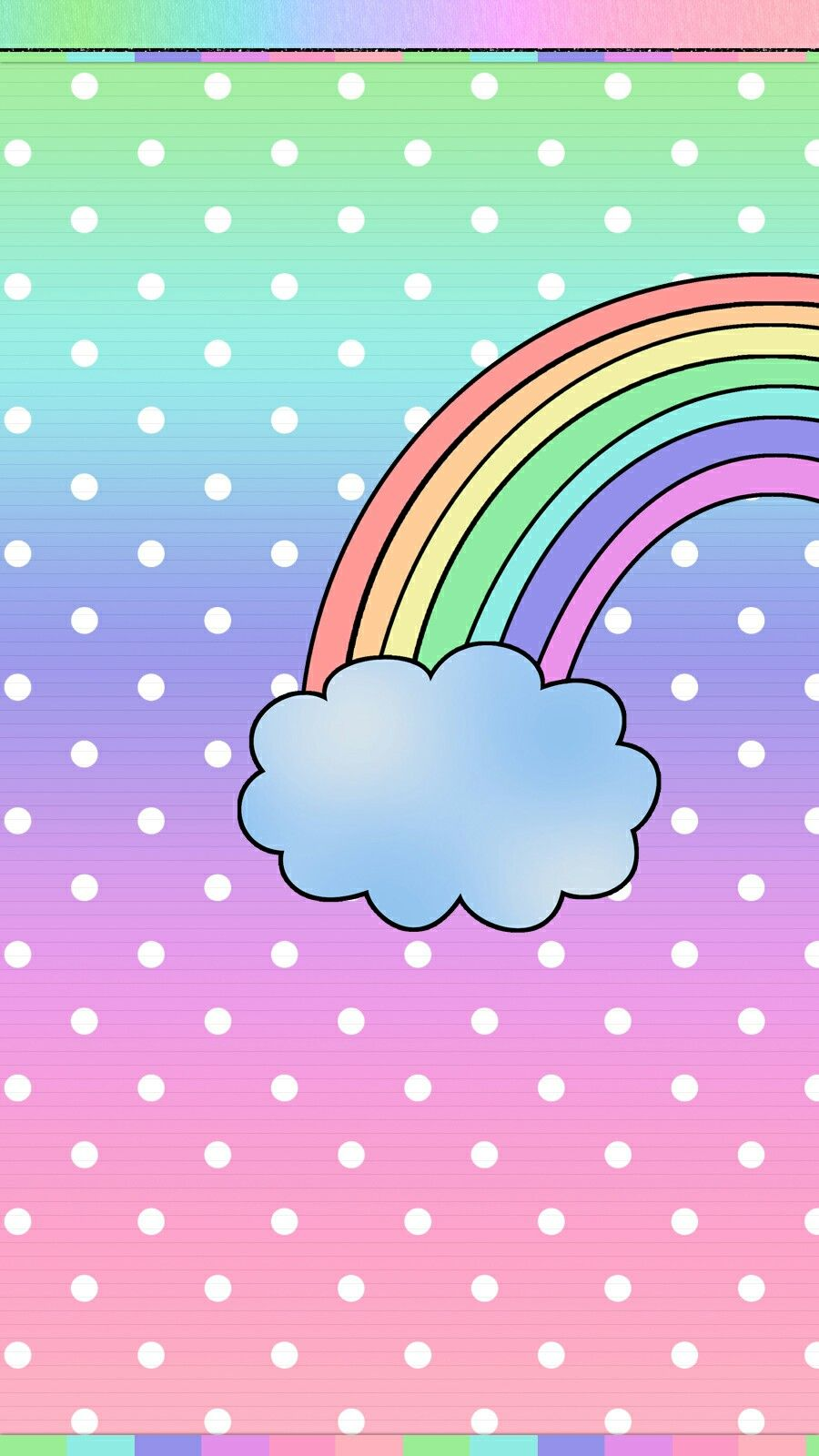Rainbow Wallpaper Iphone Rainbow Wallpaper Hello Kitty Wallpaper Wallpaper Iphone Cute