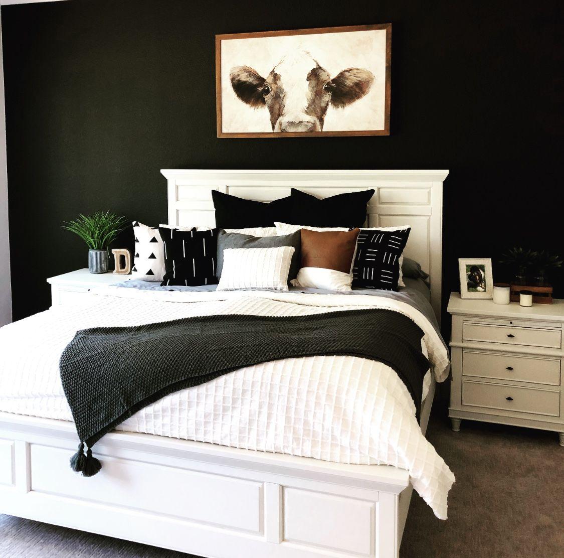 Black Wall Black Walls Bedroom Black Accent Wall Living Room Accent Walls In Living Room
