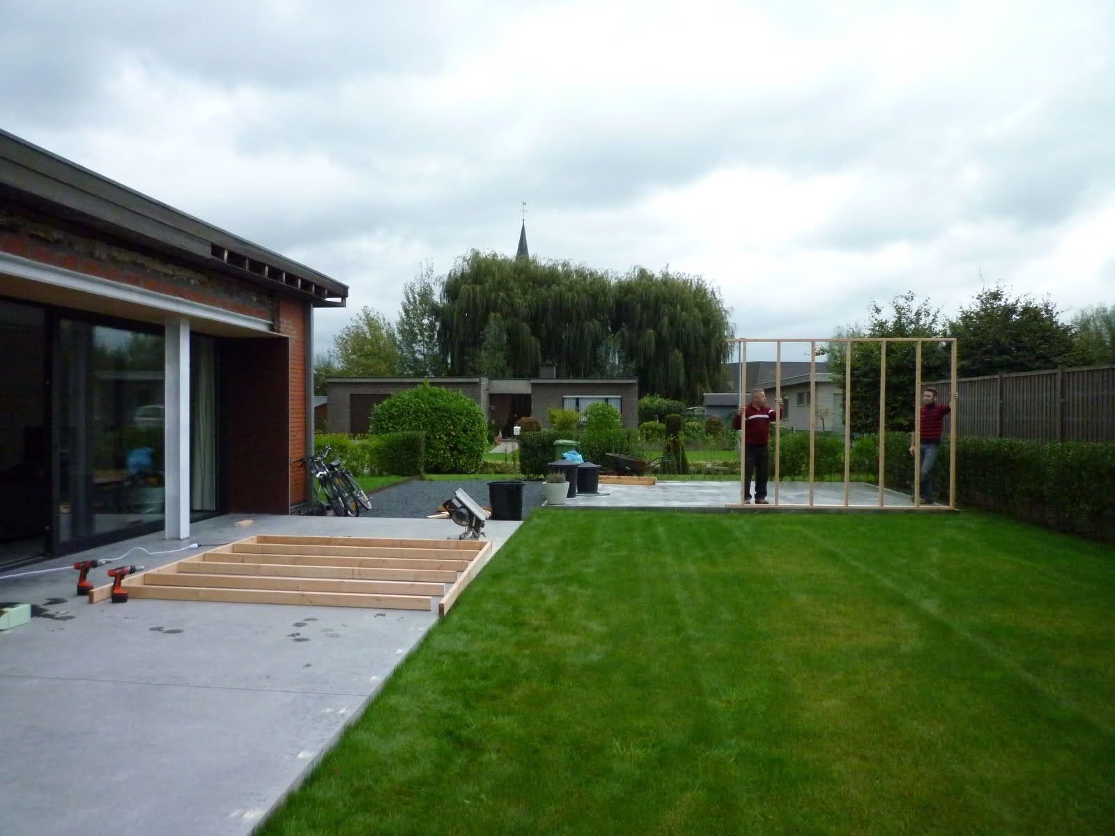 Modern tuinhuis / bijgebouw : Hoe maak je het, hoe heb ik het zelf ...