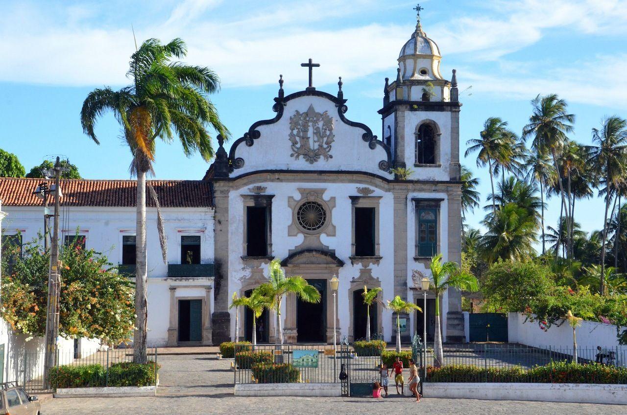 Mosteiro de São Bento em Olinda, Pernambuco.