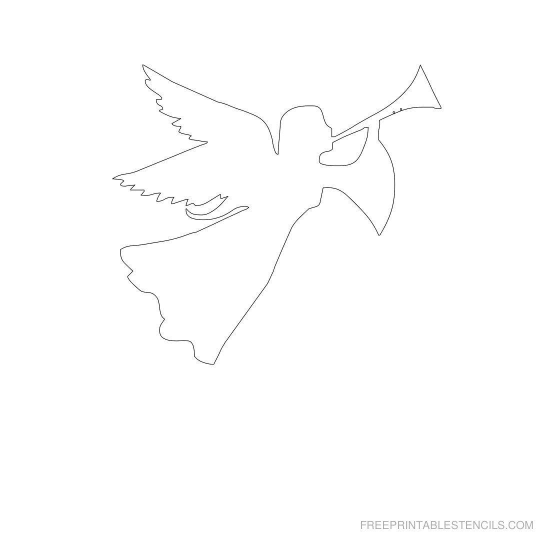 Http Freeprintablestencils Com Freestencils Printable Angels