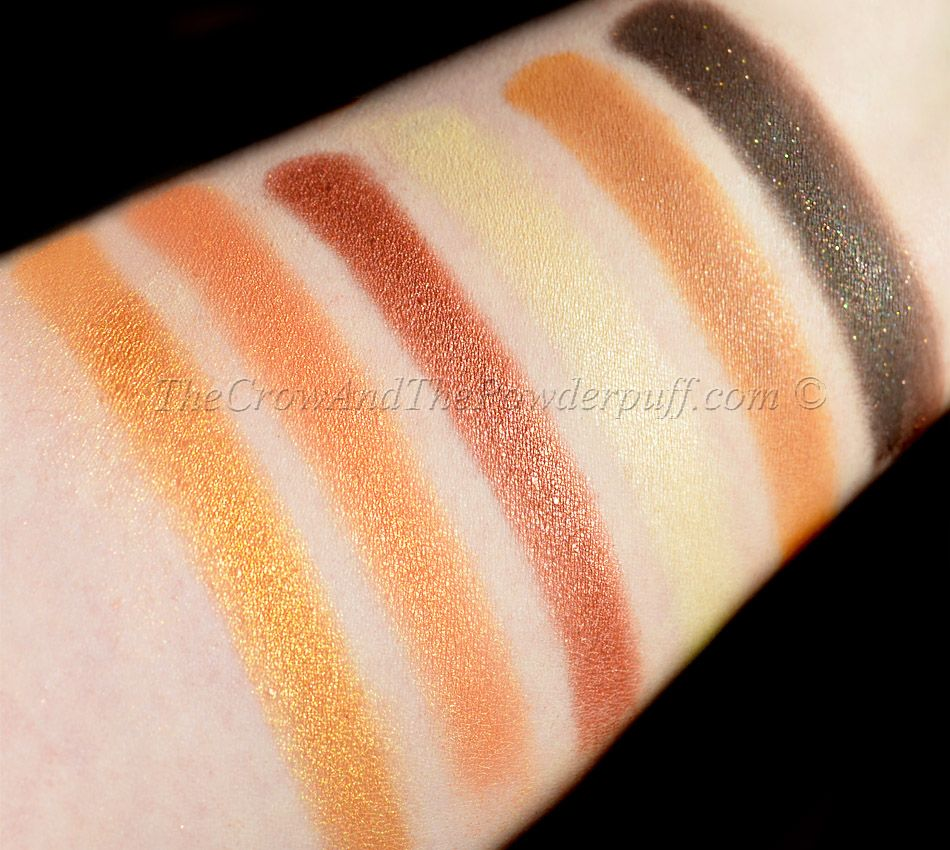 New blogpost review & swatches of the Makeup Geek Vegas
