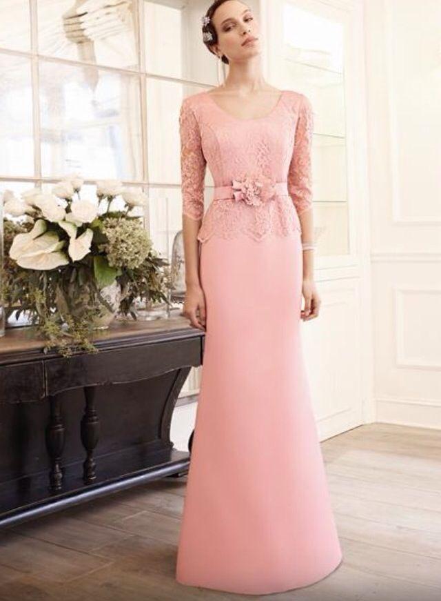 Precioso vestido de ceremonia vía Colección Fiesta de #NoviasCira en ...