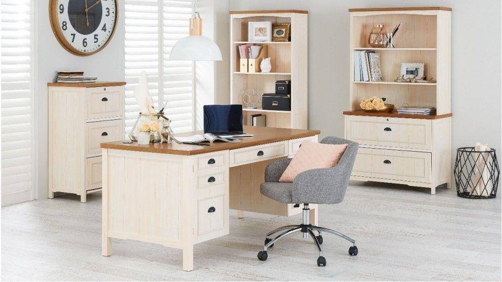 Monty Executive Desk Desks Suites Home Office Furniture Outdoor Bbqs Harvey Norman Australia