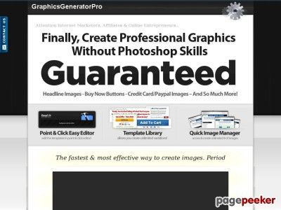 Graphics Generator Online In a single click you can access your Easy Editor, creating stunning graphics using the simple point & click interface. Never struggle with expensive code editors again!