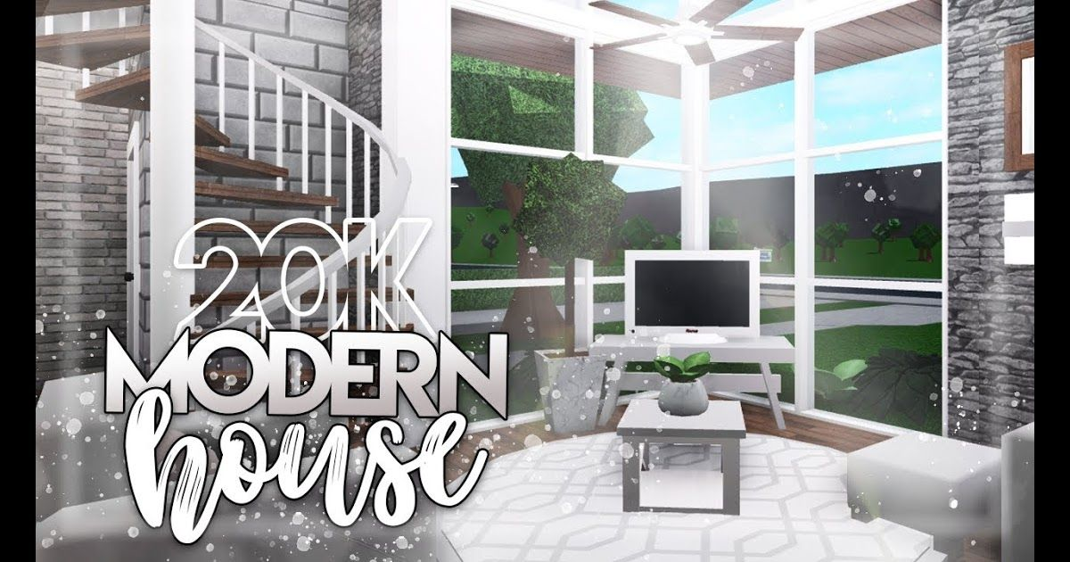 Modern Houses In Roblox Roblox Bloxburg 20k Modern House House Build Modern Mountain House Home Bloxburg Homes Meugatofofo Inf In 2020 Modern Houses Interior Modern House Modern Family House