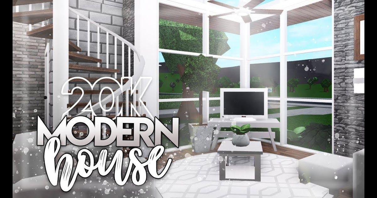 Amazing Bloxburg Modern House Interior Ideas in 2020