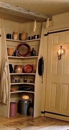 Corner ery ~ Primitive Style | My Country Home | Pinterest ... on creative kitchen storage ideas, open wooden shelving in kitchen, top kitchen cabinet ideas, for small kitchens kitchen ideas, candice olson small kitchen ideas, unique kitchen shelving ideas, open shelving decorating, kitchen wall shelving ideas, open shelving dining room, open kitchen cupboards, open kitchen shelving french kitchen, open shelving kitchen shelves, storage room shelving ideas, rustic cabin kitchen ideas, cottage kitchen ideas, open small kitchen ideas, country kitchen shelving ideas, small kitchen storage ideas, kitchen cabinet shelving ideas, restoration hardware kitchen ideas,