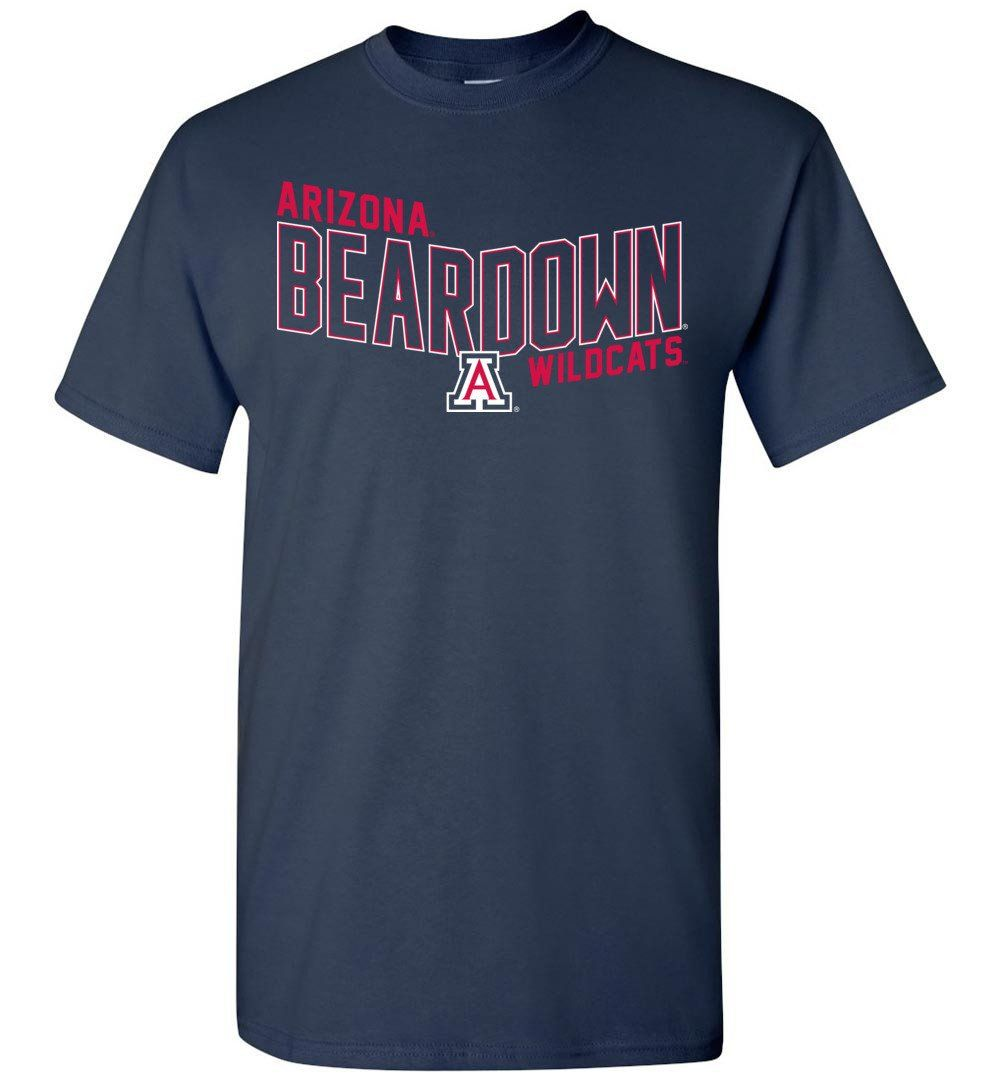 NCAA University of Arizona Wildcats U of A - Flying V - Short-Sleeve T-Shirt - UOFA1162-b
