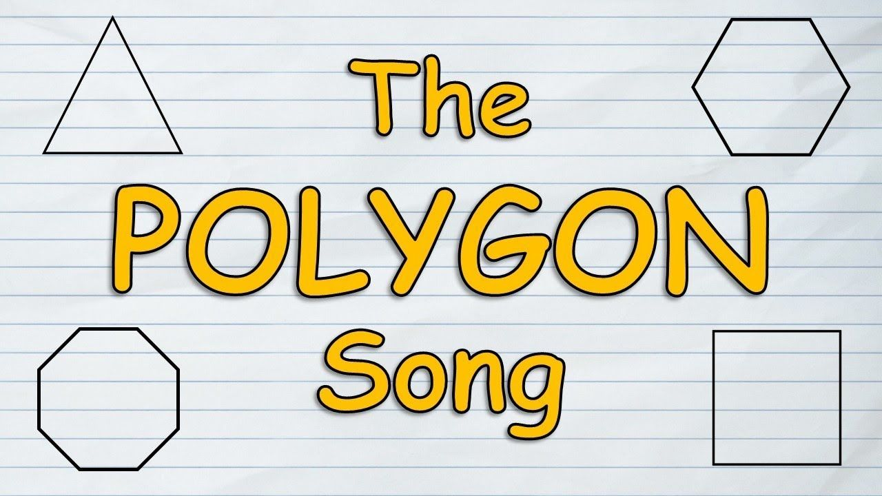 The Polygon Song | Polygons for Kids | Polygons Geometry | Silly ...