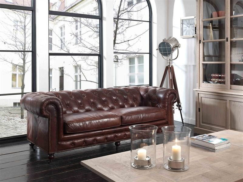 chesterfield interieur - Google zoeken | Chesterfield style ...