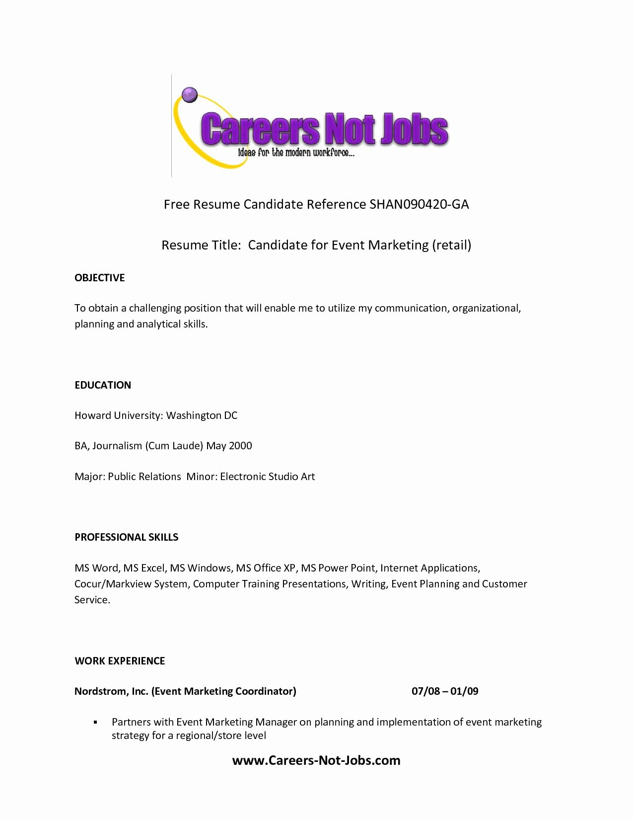 27 Examples Of Resume Titles in 2020 (With images) Best