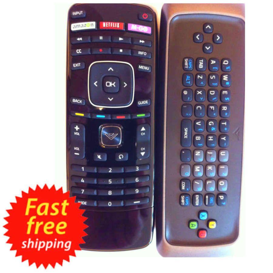 Vizio Smart TV Remote Control Universal Keyboard Qwerty