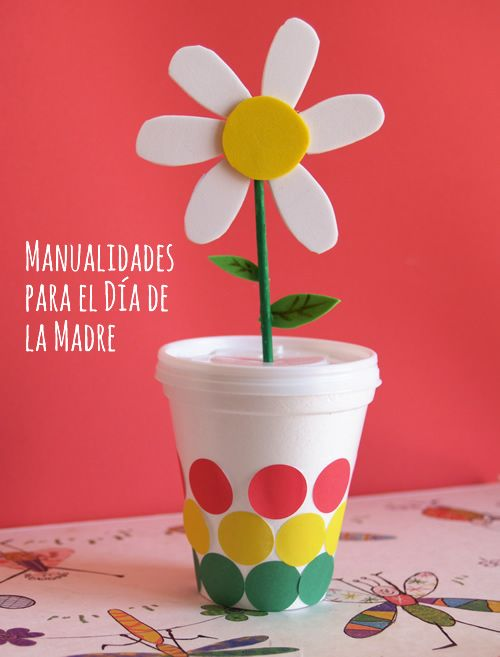 Ideas y manualidades para el d a de la madre on pinterest for Decoracion dia del estudiante