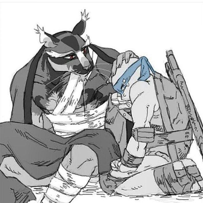 Splinter comforts Leo   Cowabunga, it's the Turtles!   Ninja