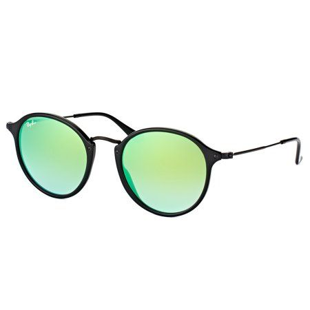 4e6644e91ed17 Ray-Ban Round Fleck Flash Lenses Gradient Sunglasses