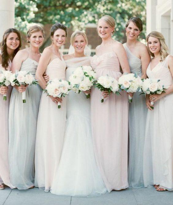 Bridesmaid dress idea; Featured Photographer: Sarah Kate Photography