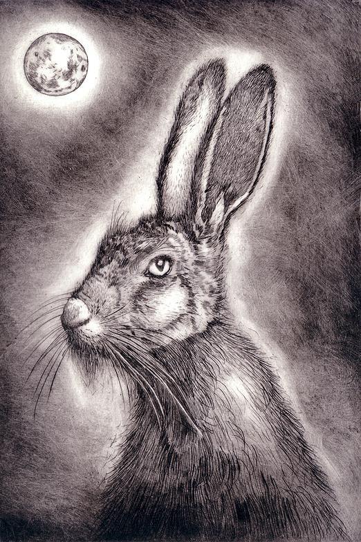 The lunatice - Ian MacCulloch-Artist-Printmaker