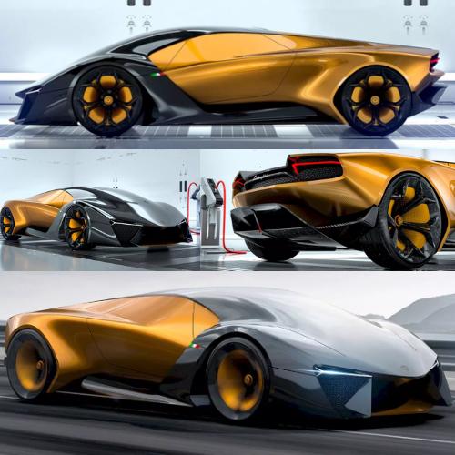 Lamborghini Belador Hybrid Concept Car By Sergey Dvornytskyy Read