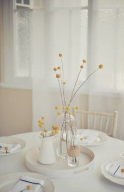 DIY 53 Amazing Ideas Of Spring Table Decoration The Simplicity This One Is Striking