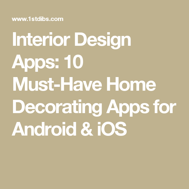 17 MustHave Interior Design Apps for iPhone & Android