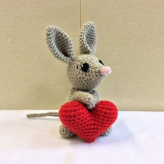 Crochet bilby crochet australian animal amigurumi bilby easter crochet bilby crochet australian animal amigurumi bilby easter gift gift for baby negle Choice Image