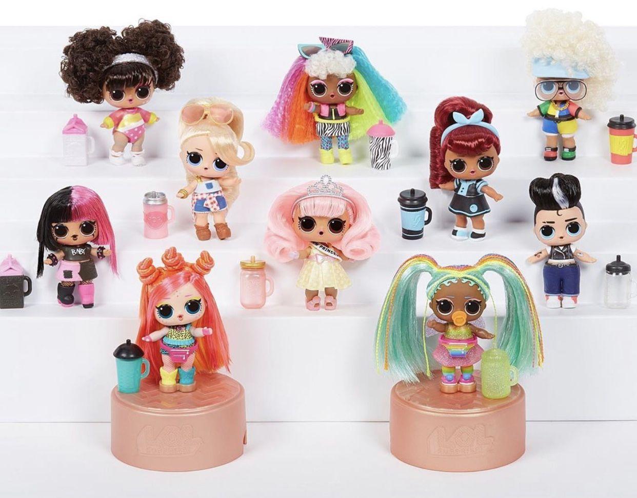 Color Change LOL Surprise Doll HairGoals Splatters Artist Doll Makeover Toy RARE
