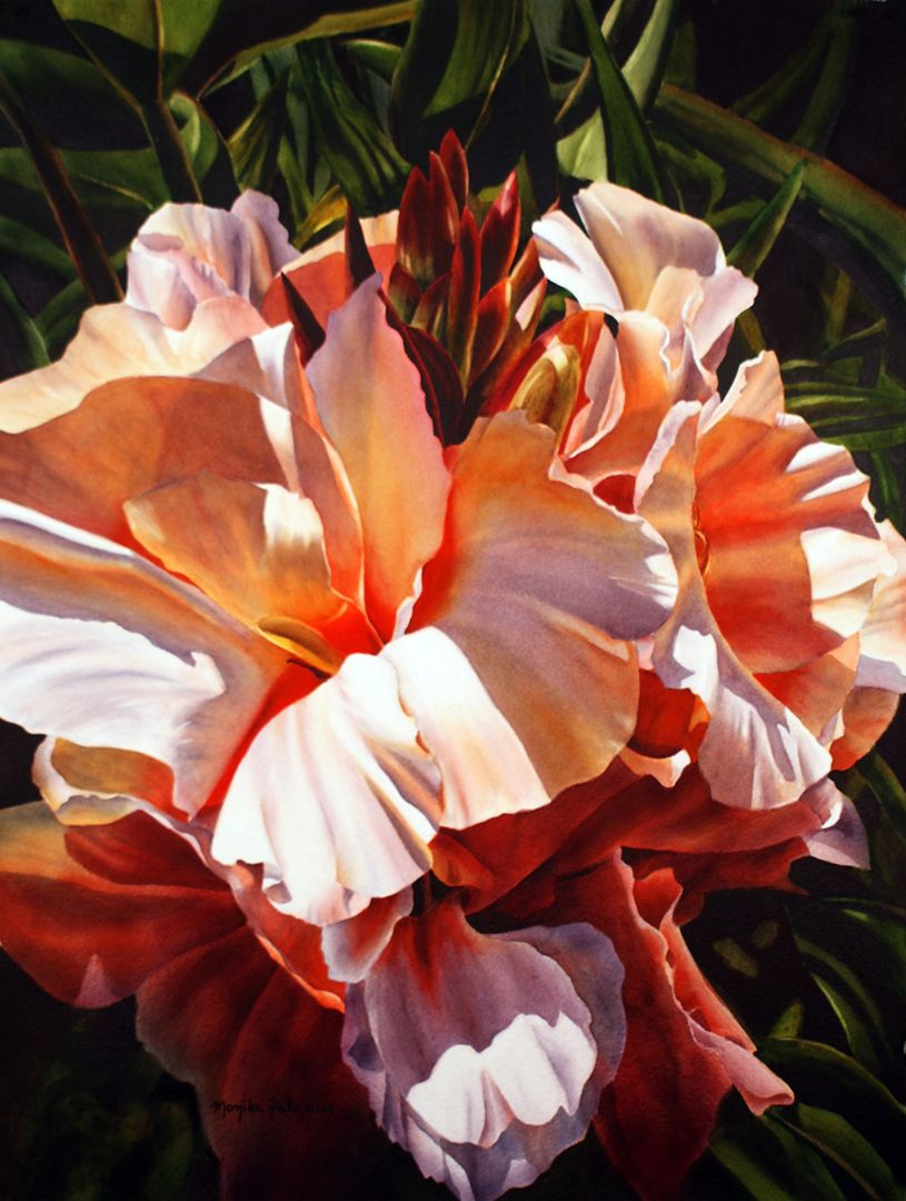 A Moment with Monika Pate - Watercolor painting exclusive interview from ArtistDaily