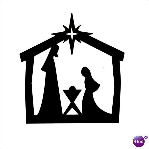 nativity clip art free downloads hogar pinterest clip art rh pinterest com manager clipart manger clipart black and white free