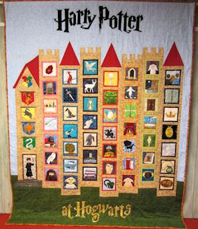 Harry Potter At Hogwarts - Castle Quilt | Harry potter, Paper ... : harry potter quilt - Adamdwight.com