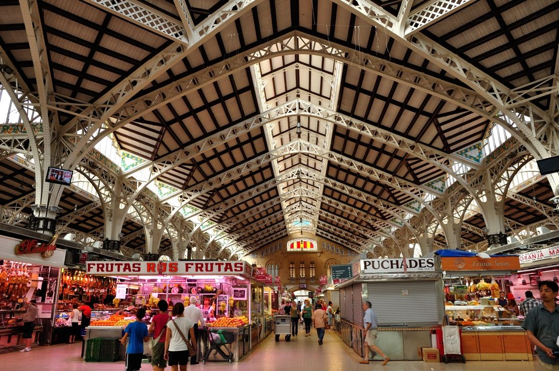 Mercado Central De Valencia Google Search Supermarket  # Muebles Neoideas