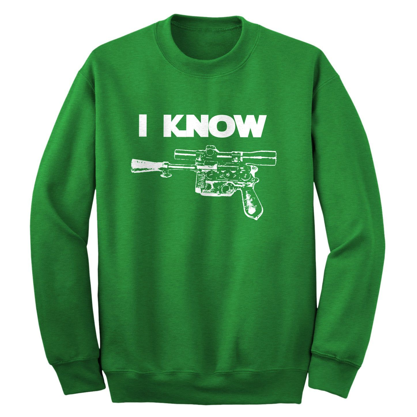 I Know Adult Crewneck Sweatshirt