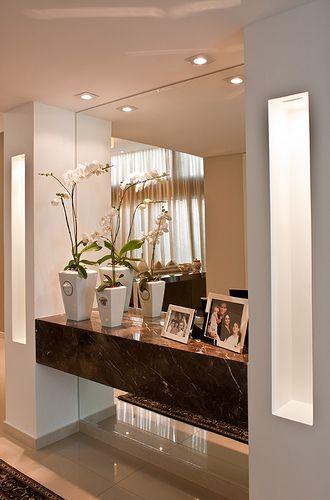 Hall de entrada residencial moderno pesquisa google for Sala design moderno