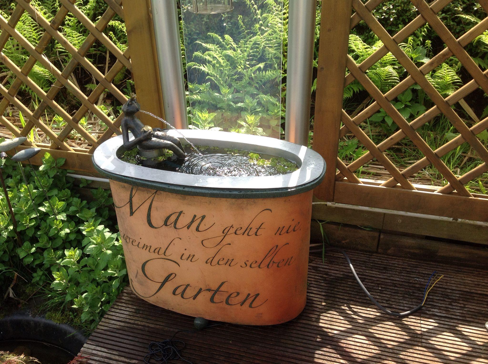 Man Geht Nie Zweimal In Den Selben Garten Garten