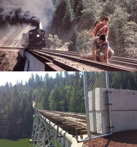 'Stand By Me' locations; then and now...