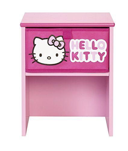 Süsse Kommode für ein rosa Hello Kitty Kinderzimmer