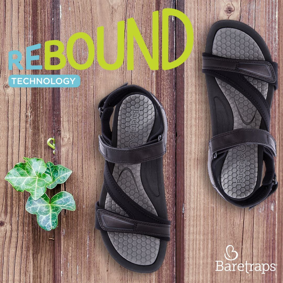 New Rebound Technology All Day Comfort Antimicrobial Foot Bed