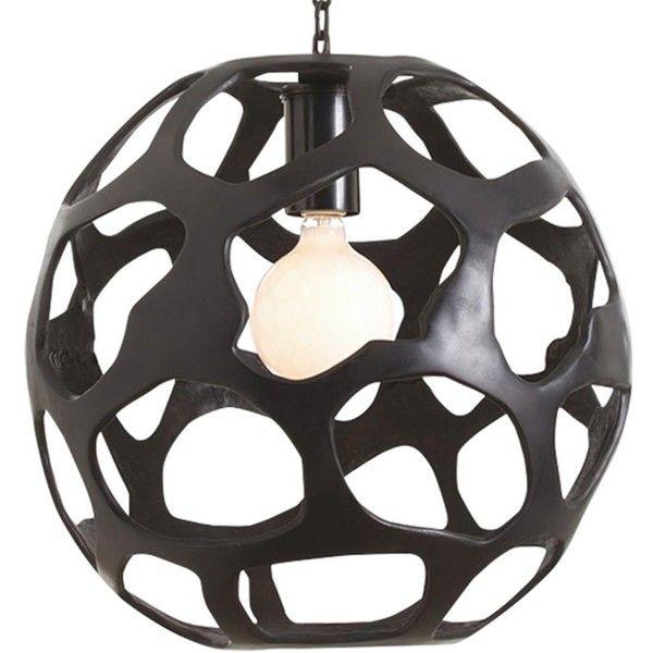 design classics lighting modern hanging globe. Elvin Modern Classic Oxidized Iron Comb Globe Pendant (4,040 SAR) ❤ Liked On Polyvore Design Classics Lighting Hanging