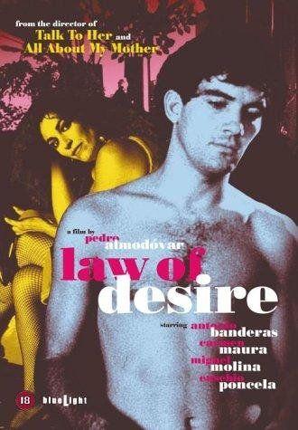 La Ley Del Deseo 1987 Almodovar Films Pedro Almodovar Inspirational Movies