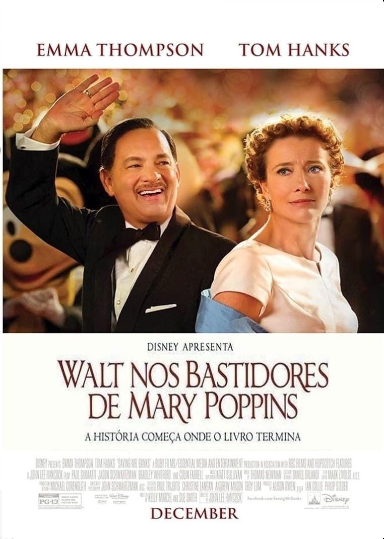 Assistir Walt Nos Bastidores De Mary Poppins Dublado Online Mary Poppins Filmes Emma Thompson