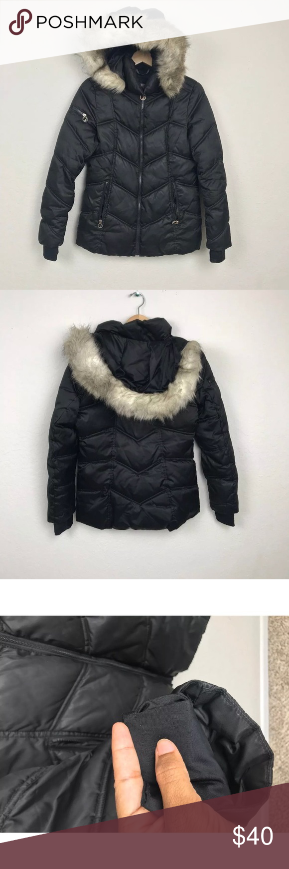 Nautica Woman Winter Coat Hoodie Puffer Sz S Winter Coats Women Winter Fashion Jackets Winter Jackets Women [ 1740 x 580 Pixel ]