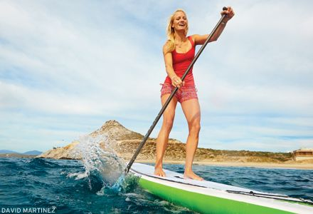 4 yoga poses to try on your sup  paddle board yoga yoga