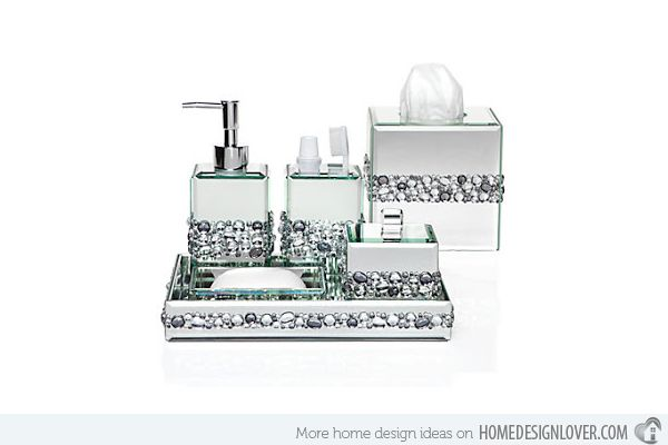 Genial 15 Trendy Modern Bathroom Accessories Set