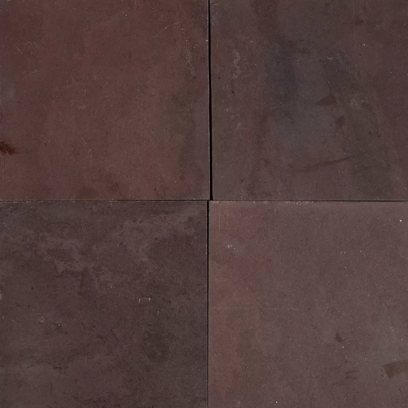 Chocolate Burgundy Polished 12x12 Slate Field Tile Living Room Design Board Burgundy Stone Tiles