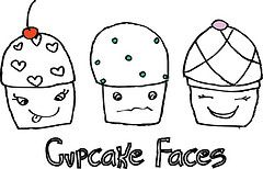 Cupcake Facees/ by Lols